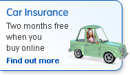 Car Insurance. Two months free when you buy online. Find out more.